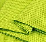 Bündchen Schlauch Meter Bund Stoff Jersey Pullover Strick