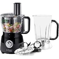 Russell Hobbs Robot Cuisine Multifonction, Hâche, Mixe, Tranche, Râpe, Lames Pétrin, Batteur, Compatible Lave-Vaisselle…