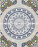 Touska - Marokkanische Fliesen, Bemalt Bunt Kunst Design Arabisch Rustikal Fliesen