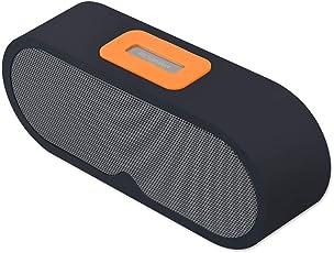 Alexly Wireless Portable 4.2 Bluetooth Speaker with USB Micro/USB Lighting/TF Card/FM / AUX in (Black)
