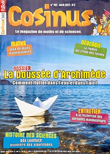 Cosinus N 192 la Poussee d'Archimede Avril 2017 par Collectif