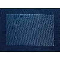 ASA Tischset Tabletops lagoon blau Tischmatte Platzmatte Platzset Kunstleder Neu
