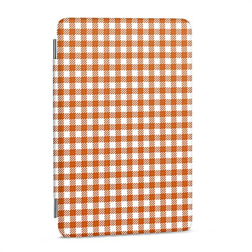 Apple iPad mini 4 Hülle Flip Case Schutz Smart Cover Karo Picknick Decke