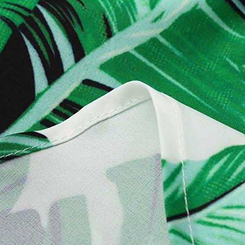Longra Donna Top Sexy senza maniche in tessuto Raglan Verde