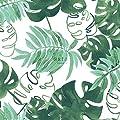 Tapete gemalte, tropische Dschungelblätter von ESTAhome.nl von ESTAhome.nl bei TapetenShop