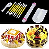 Alcoa Prime 11Pcs Cake Decorating Fondan...