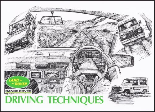 land-rover-range-rover-driving-tech-by-brooklands-books-ltd-2006-03-05