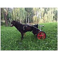 Silla de Ruedas para Perros, Coche para Perros, Adecuado para Mascotas Pata Trasera Práctica Rehabilitación Miembro Discapacitado Discapacitado Lesionado Ayuda para Caminar , para Perros Grandes en p