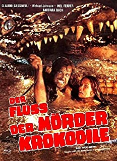 Der Fluss der Mörderkrokodile (Die heilige Bestie der Kumas) - Uncut/Mediabook (+ DVD) - Limitiert auf 222 Stück, Cover C [Blu-