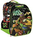 Tortugas Ninja - Mochila extragrande 46,5cm triple compartimento de Tortugas Ninja