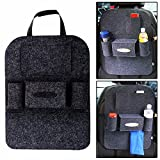 HOME CUBE® 2 Pcs Car Organizer Storage Bag Back Seat Box Organizer Holder Cover Backseat Pockets Books Phone Auto Stowing Tidying Accessories