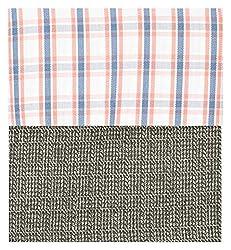 Siyarams Mens Shirt and Trousers Fabrics (Multi-Coloured and Grey )