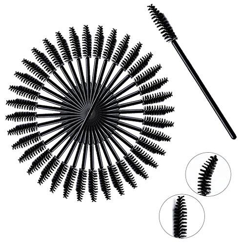 Einweg Wimpernpinsel Mascara Zauberstab Applikator für Wimpernverlängerung Make-up-Pinsel Tools