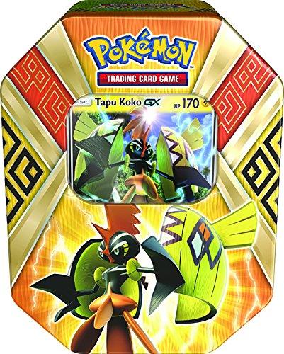 Pokemon pok699-16805Tapu (begriffsklärung) Koko Insel Guardians 2017Sommer Dose