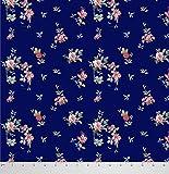 Soimoi 42 Zoll breit mit Blumenmuster Viskose Chiffon Craft