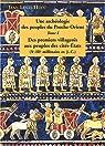Peuples de l'Orient ancien. Tome 1 : DEs premiers villageois aux peuples des cités-Etats (Xe-IIIe millénaire avant JC) par Huot