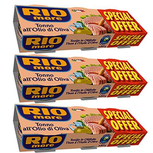 9x Rio mare Thunfisch 'in Olivenöl', 160 g