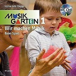 """Wir machen Musik """"Beim Spiel"""" - Liederheft inkl. CD: Liederheft mit CD. (Musikgarten / Gemeinsam musizieren... für Kleinkinder mit ihren Familien)"""