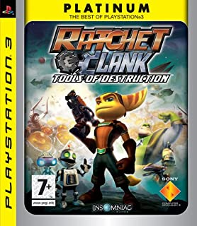 Ratchet And Clank Tools Of Destruction Ps3 Amazon Co Uk Pc