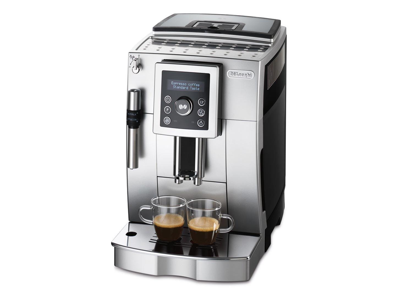 De'Longhi ECAM 23.420.SB Kaffeevollautomat mit Milchaufschäumdüse, silber