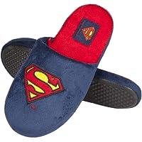 soxo Pantoufles Homme Superman | Taille 41-46 | Chaussons Confortable d'intérieur | Semelle élastique Antidérapante en…