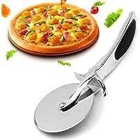 Rotella Tagliapizza  Jmege taglierina per pizza in acciaio INOX inossidabile da cucina con impugnatura antiscivolo