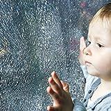Bridgetown Sicherheitsfolie Splitterschutzfolie Fensterfolie Schutzfolie Einbruchschutz Kratzfest 90 x 200cm