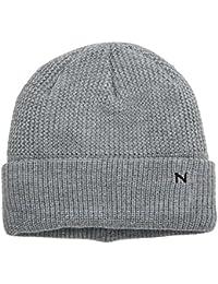 Mens Chunky Knit Hat Beanie, Grey (Grey 37), One Size (Manufacturer Size: 88/88) Wrangler