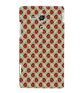 EPICCASE panel of roses Mobile Back Case Cover For Sony Xperia SP (Designer Case)