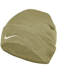Nike Unisex Adult Wintersport Strickmütze Hut Free-Größe Beige