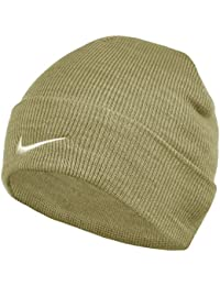 a1ea5372786 Nike Unisex Adult Winter Sports Knitted Beanie Hat Free-Size Beige