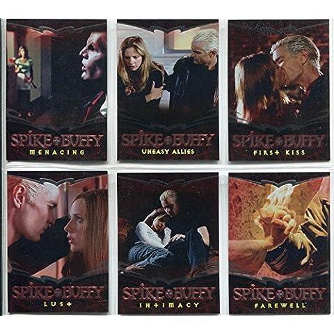 Spike The Complete storia di carta con decori a punte e Chase Buffy Set 1-6