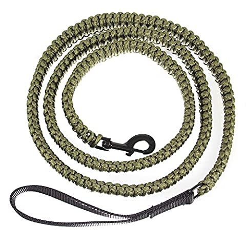 Geniune 550 Paracord Lead For Big Dogs - Extra 2.75m