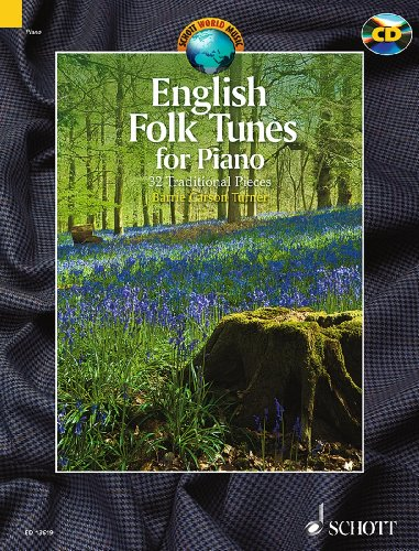 english-folk-tunes-for-piano-32-traditional-pieces-schott-world-music-piano-edition-with-cd-ed-13619