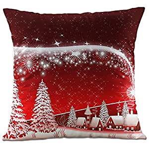 hangood soft flannel throw pillow case cushion covers. Black Bedroom Furniture Sets. Home Design Ideas