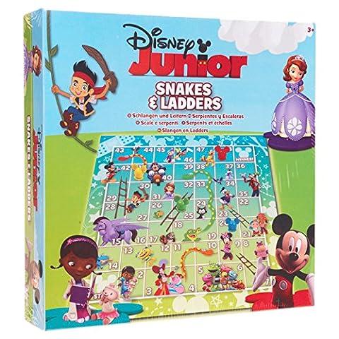 Disney Junior Snakes and Ladders Board Game by Disney (Junior Board)