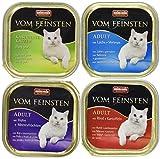Animonda Vom Feinsten Adult, Nassfutter für ausgewachsene Katzen,  Fisch & Fleisch Mix, 32 x 100 g