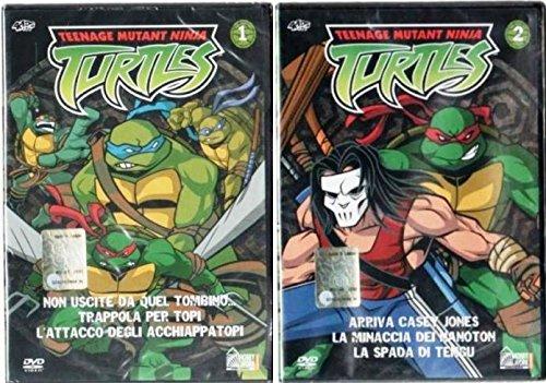 Teenage Mutant Ninja Turtles DVD 1 e 2