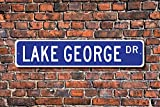 Dozili Lac George Lac George Sign Lac George Cadeau Amateur de lac New York Lac Lac...