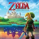 The Legend of Zelda 2016 Wall Calendar (Abrams Calendars)