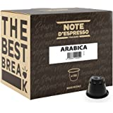 Note d'Espresso - Lot de 100 capsules de café Arabica exclusivement compatibles avec machine Nespresso*, 100 x 5,6 g