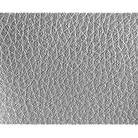 1 METRO de Polipiel para tapizar, manualidades, cojines o forrar objetos. Venta de polipiel por metros. Diseño Luna Color Plata ancho 140cm