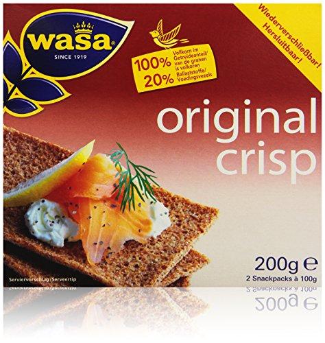 Wasa Knäckebrot Crisp Original, 200 g
