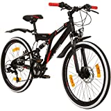Galano 24 Zoll MTB Fully Adrenalin