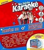 Coffret Karaoké Exclu Carrefour 4 DVD + Micro + 2 CD : Années 80 / Chanson Française