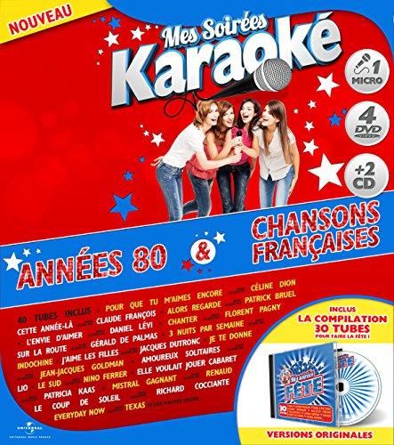 coffret-karaoke-exclu-carrefour-4-dvd-micro-2-cd-annees-80-chanson-francaise