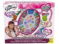 Idea Regalo - Teorema 64153 - Braccialetti Bambina con Oltre 200 Tra Perline e Ciondoli assortiti
