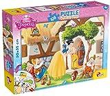 Lisciani 48038 Schneewittchen, Spiele und Puzzles
