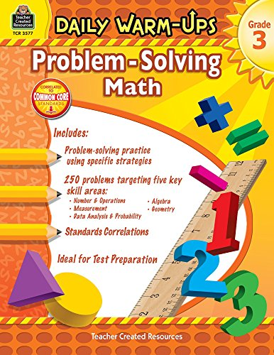 Daily Warm-Ups: Problem-Solving Math, Grade 3