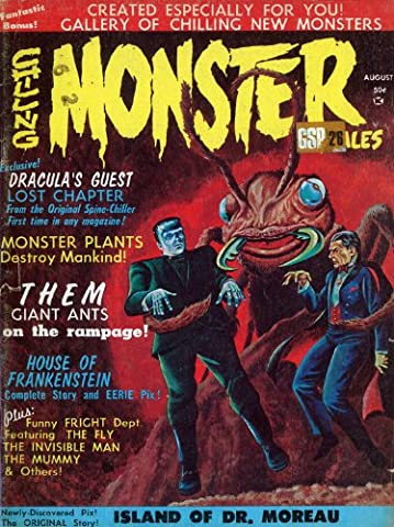 Contes 1966 - Chilling Monster Contes Août Art